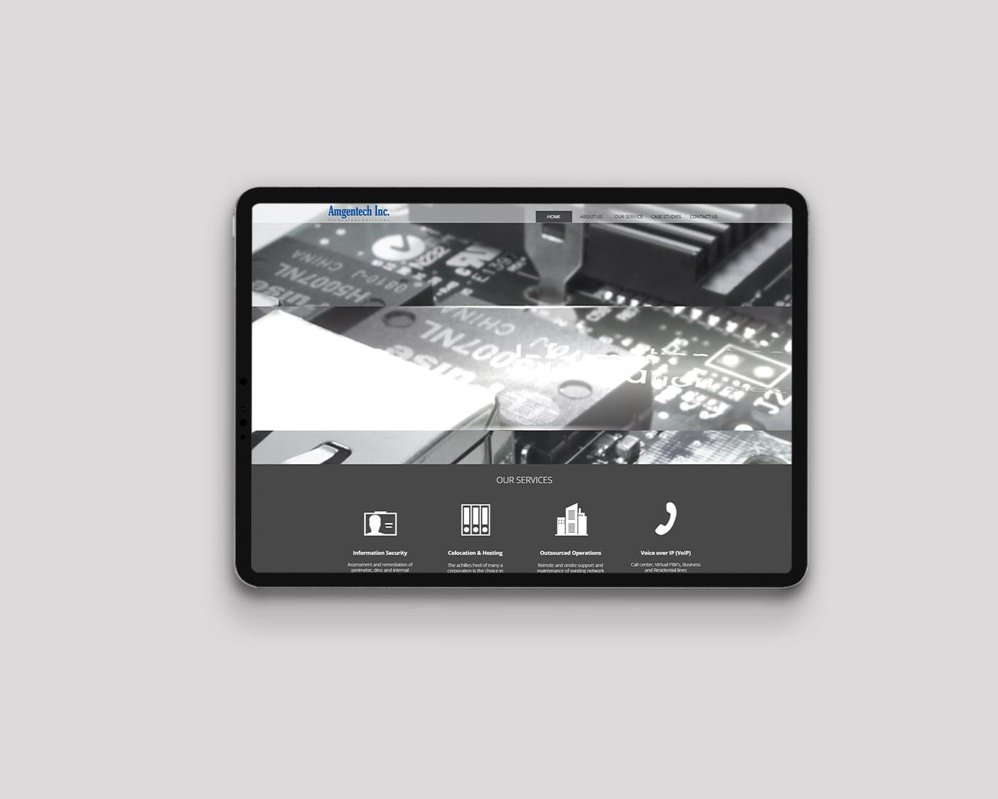 Amgentech – Website