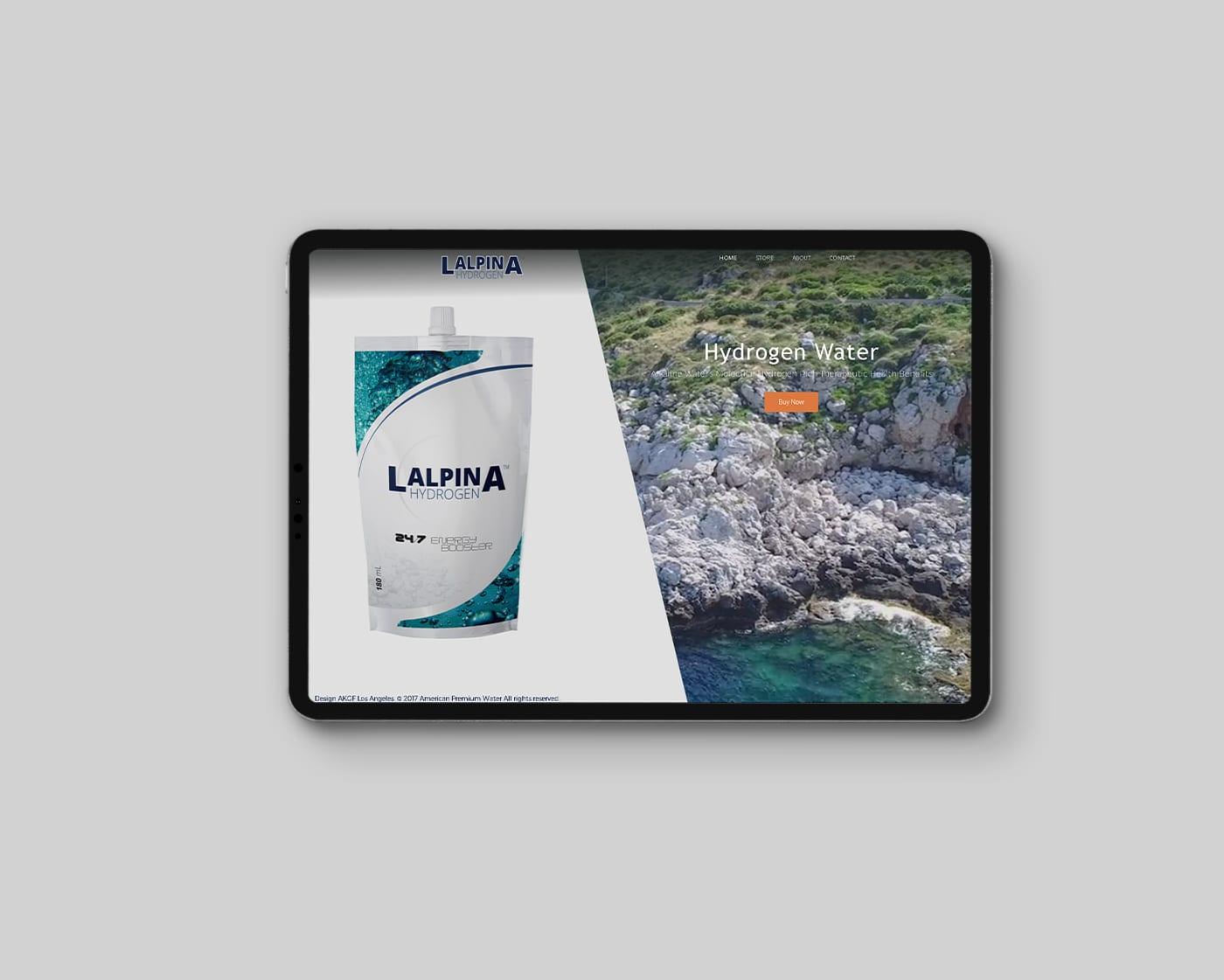Lalpina Hydrogen – Website